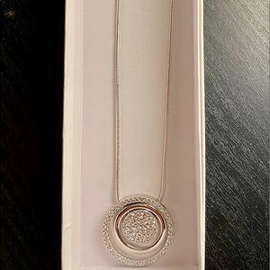 Swarovski Elements Crystal Triple Circle Necklace